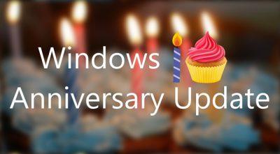 Hãy cập nhật ngay Windows 10 Anniversary Update