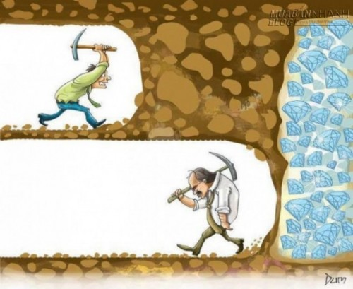 Hãy luôn nói với bản thân mình, đừng từ bỏ