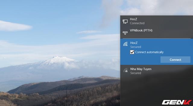 Khắc phục lỗi Windows 10 không lưu lại mật khẩu Wi-Fi