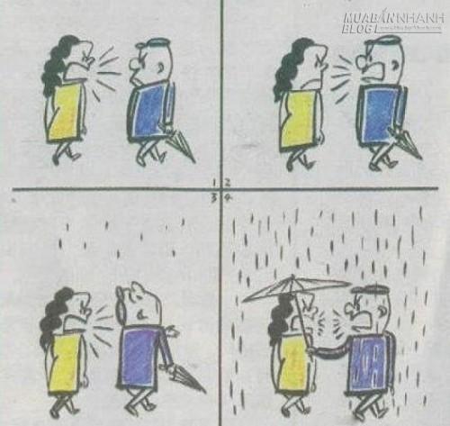Trong cuộc sống vợ chồng không thể thiếu những cuộc xung đột, nhưng điều quan trọng là, sau mỗi lúc như vậy chúng ta vẫn có thể ở bên nhau trọn đời