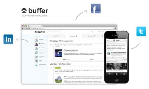 Quản lý các kênh truyền thông xã hội bằng Buffer