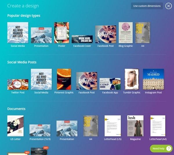 Thiết kế ấn phẩm truyền thông tiện dụng với Canva