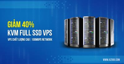 KVM Full SSD VPS AZDIGI