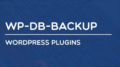 WP-DB-Backup