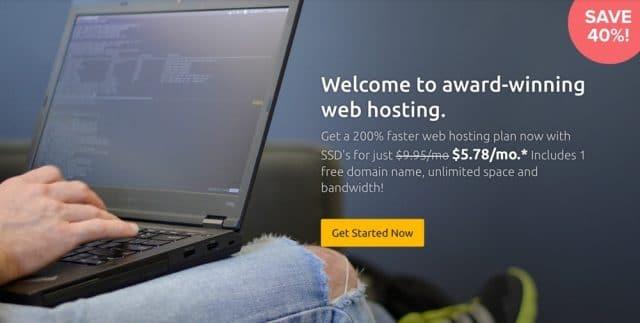 DreamHost Coupon giảm giá 40% Hosting + Miễn phí tên miền