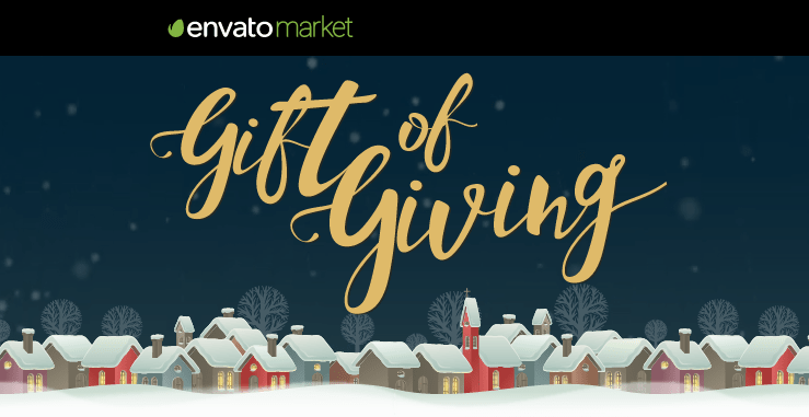 Envato Gift of Giving 2016