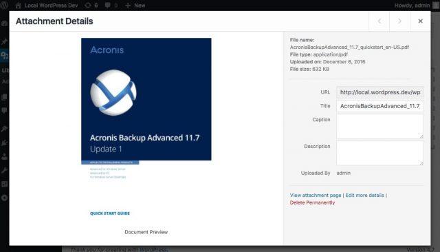 Tập tin PDF hỗ trợ ảnh đại diện