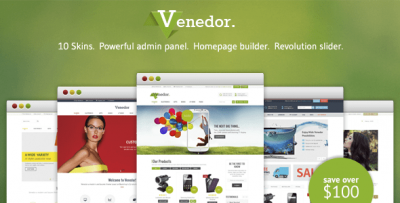 Download theme WordPress Venedor WooCommerce free