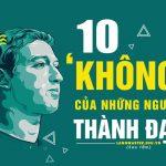 10 không của những người thành đạt