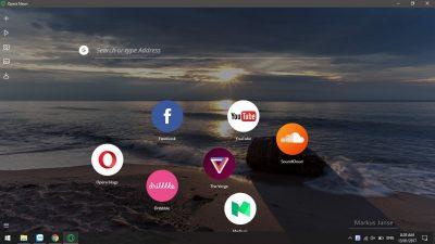 Opera lột xác với trình duyệt Opera Neon