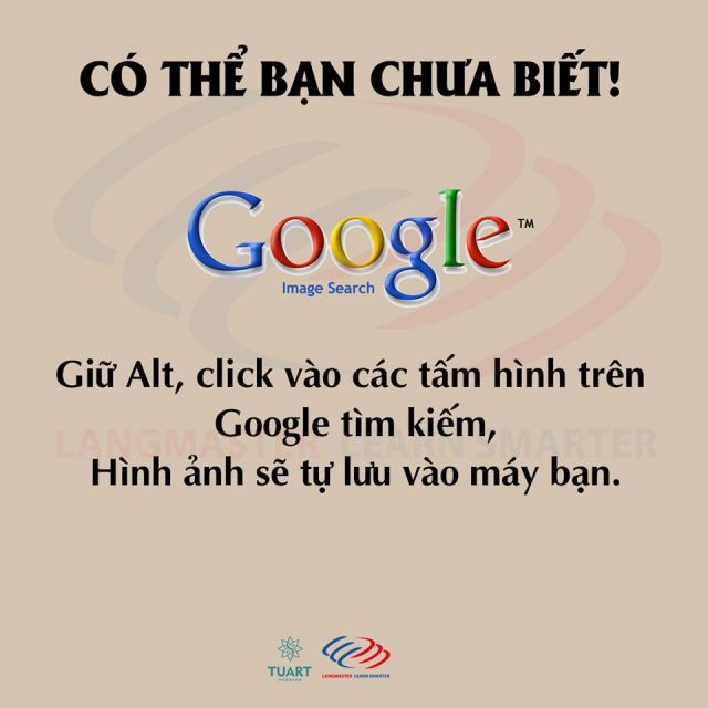 Lưu hình ảnh tìm kiếm được trên Google