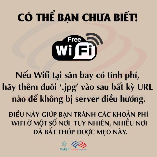 Tránh mất tiền khi dùng Wifi tốn phí