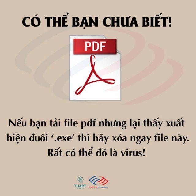 File tải về trên mạng .exe gần như 100% là file độc hại