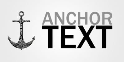 Diversified anchor text
