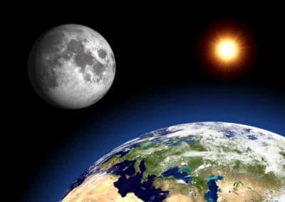 Trái đất có tuổi là 4,56 tỷ năm, cùng với Mặt trăng và Mặt trời.