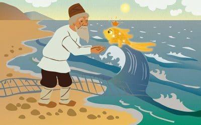 5 Why và truyện cổ tích Ông lão đánh cá và con Vàng Remix