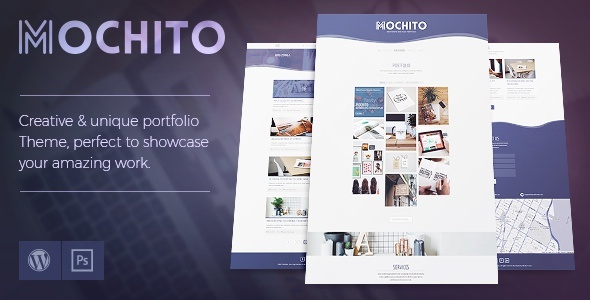 Mochito - One-Page Portfolio Ajax WordPress Theme ($44 - FREE)