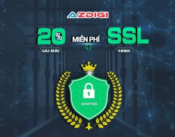 Ưu đãi có hạn: AZDIGI giảm giá 20% Hosting và miễn phí SSL